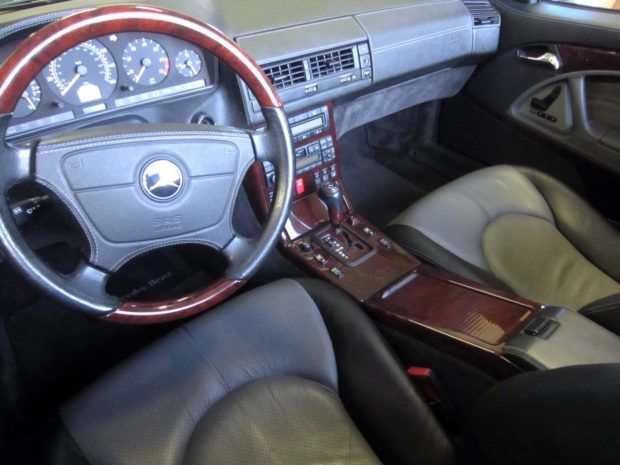 No Reserve 21k Mile 1998 Mercedes Benz Sl600 With Images Benz