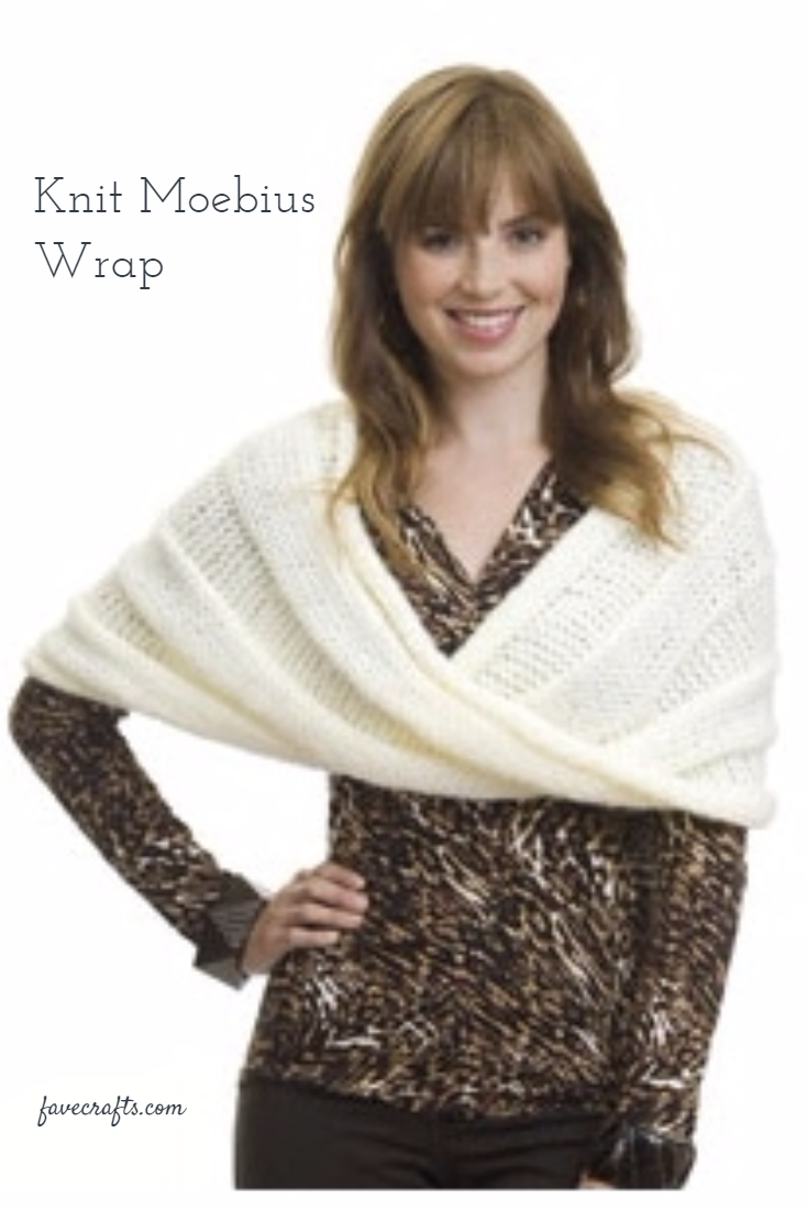 Knit Moebius Wrap | Knitting Favorites | Pinterest | Costura
