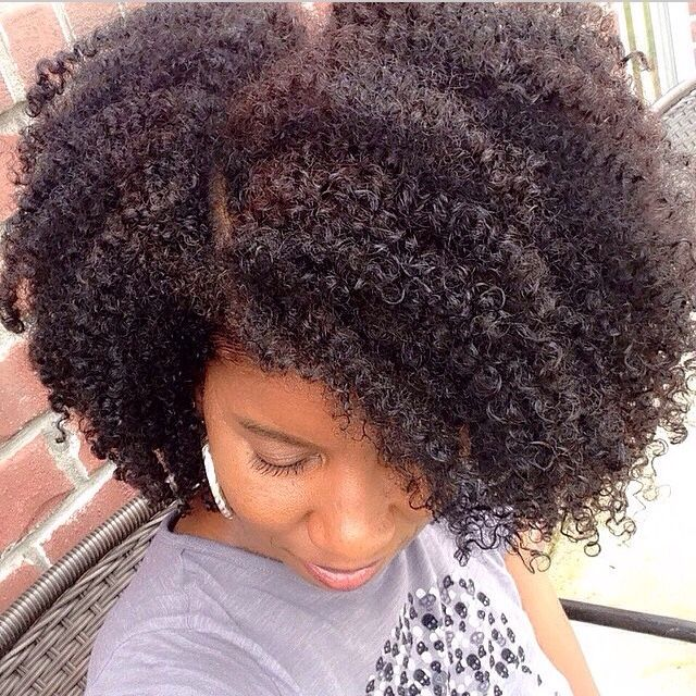 NATURAL HAIR…looks almost like my hair…I just need that