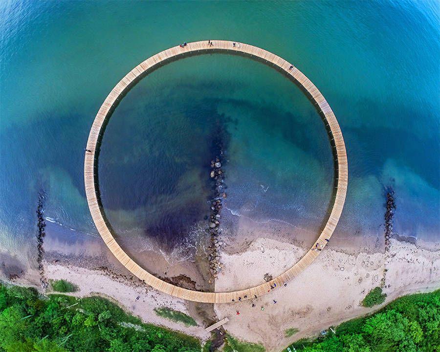 Infinite Bridge in Denmark