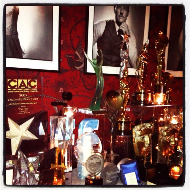 The Baz and CM 'red room' . . . Just a few gigantuan gongs . . . Beautiful. . .
