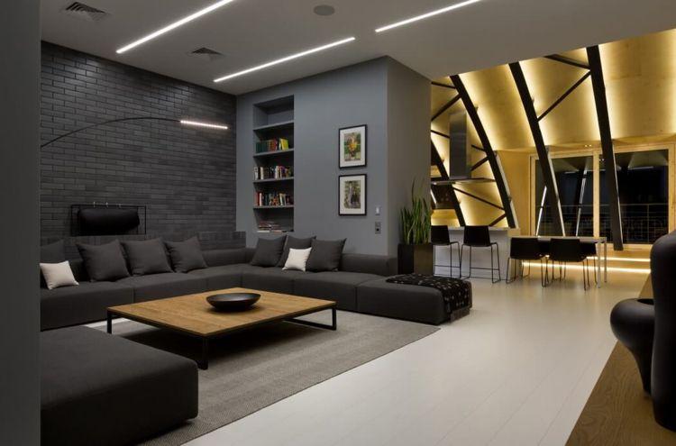 attraktive indirekte Beleuchtung im Wohnraum setzen Coo!_ - wohnzimmer ideen dachgeschoss