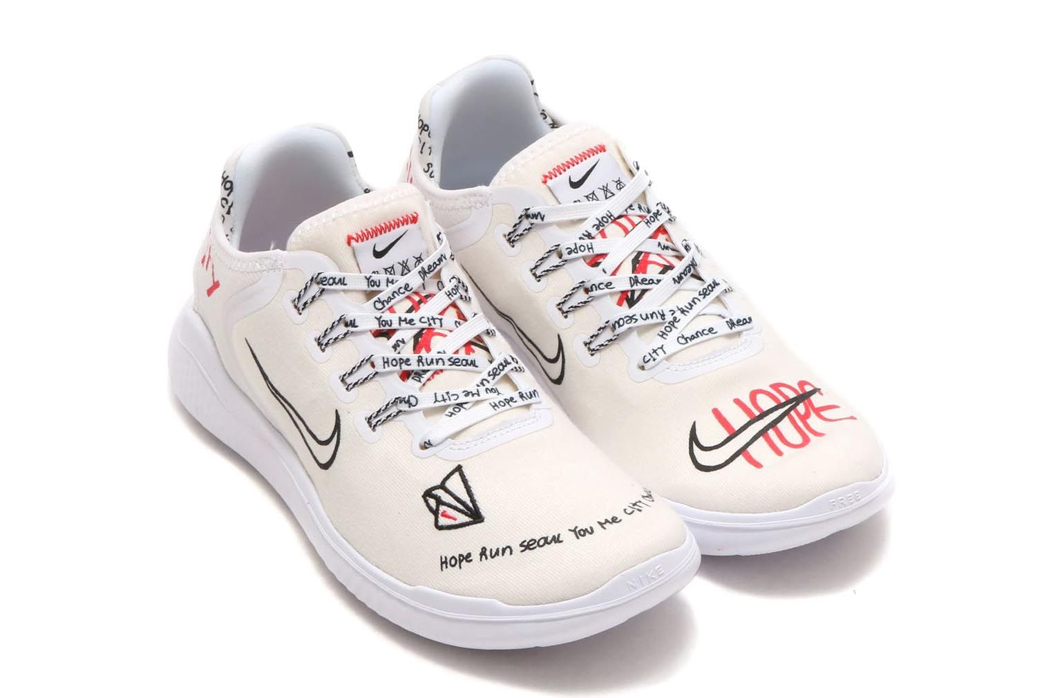 d4ed956e274 Korean Artist Novo Designs Nike Free RN Inspired By Seoul ...