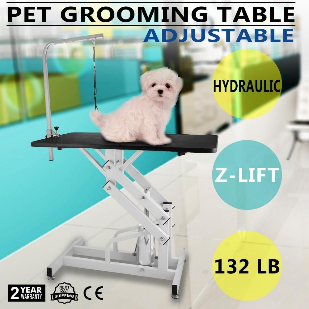 Z Lift Hydraulic Professional Pet Grooming Table With Adjustable Arm 45 Ae Pet Grooming Pet Supplies Dog Grooming