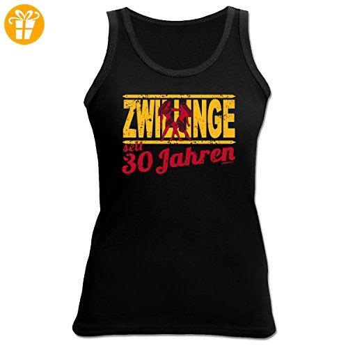 Damen Tank Top zum 30.Geburtstag : Zwillinge / 30 Jahre Sternzeichen - Damen  T