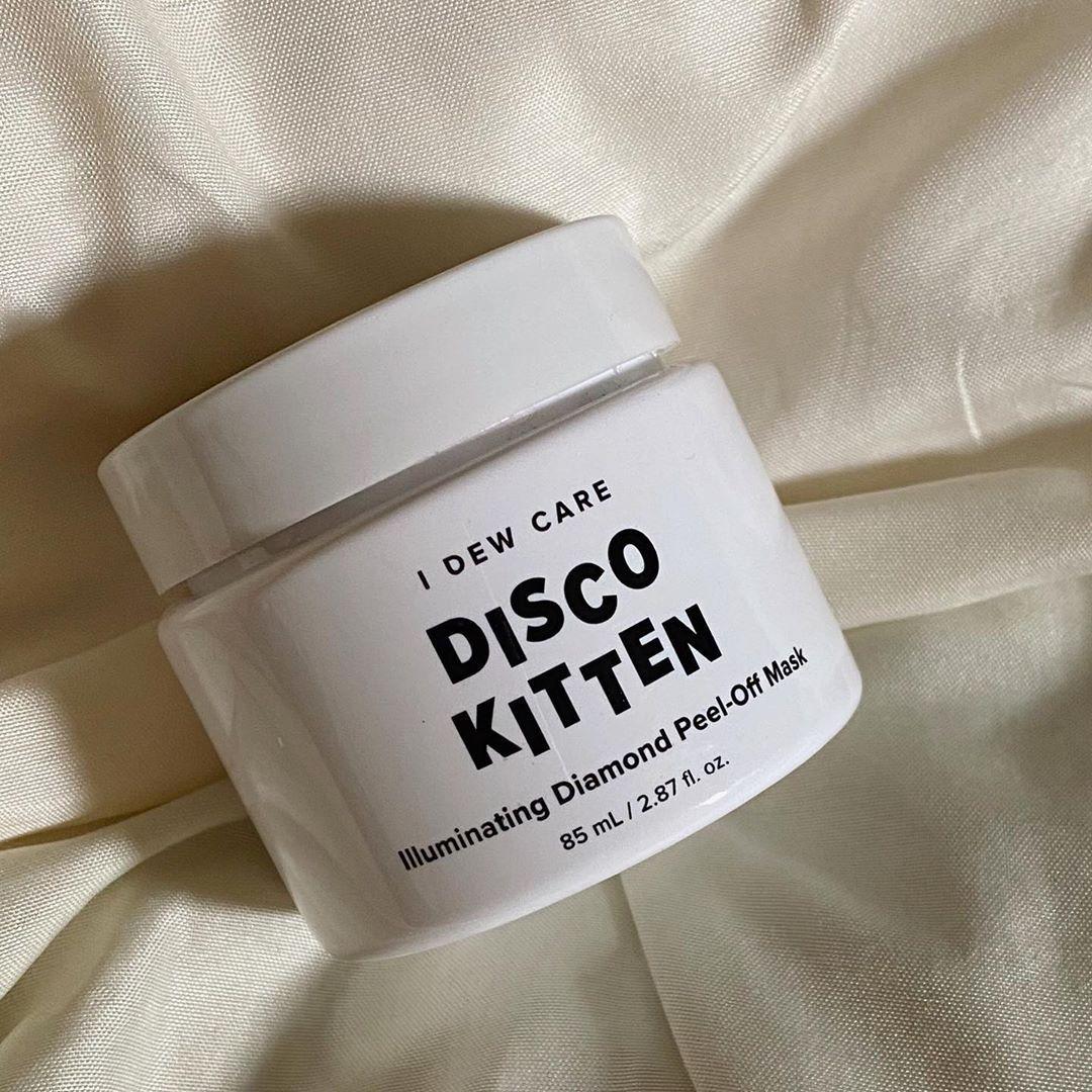 I Dew Care Disco Kitten Illuminating Diamond Face Mask Korean Skincare Kbeauty In 2020 Diamond Face Peel Off Mask Beauty Skin Care Routine