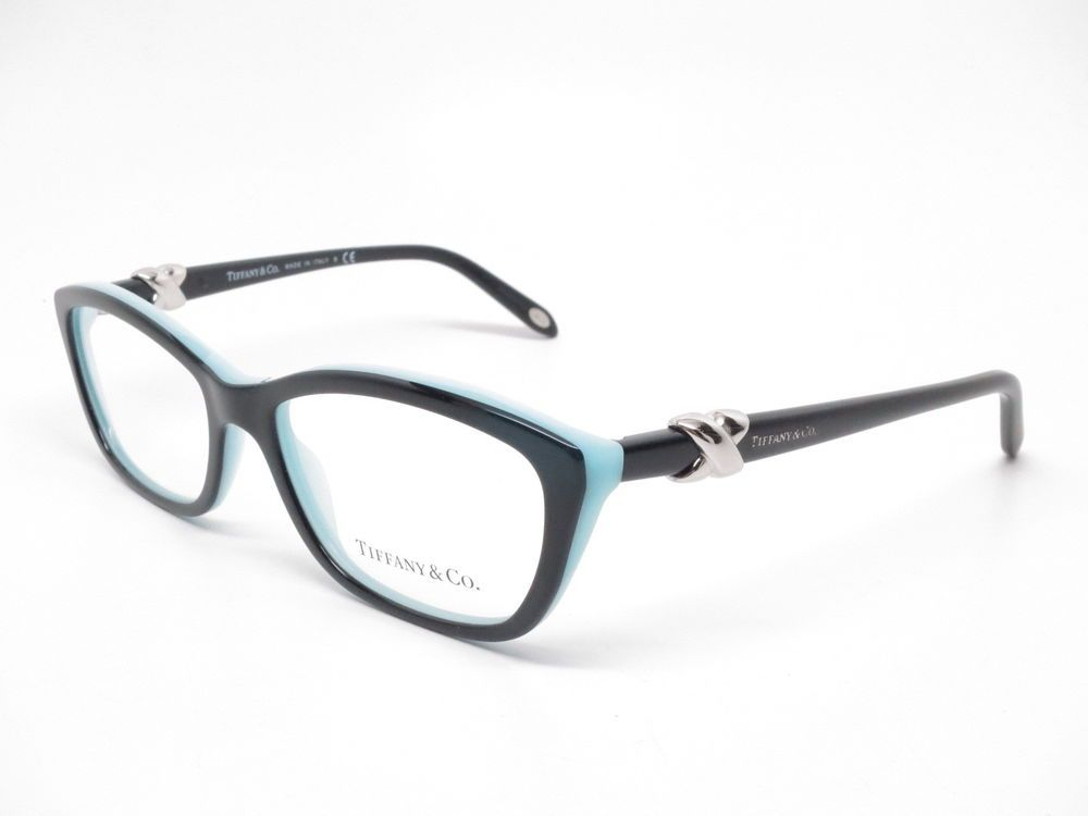 ece69da15cde Tiffany   Co TF 2074 8155 Havana   Transparent Rx-able Eyeglasses TF2074  54mm