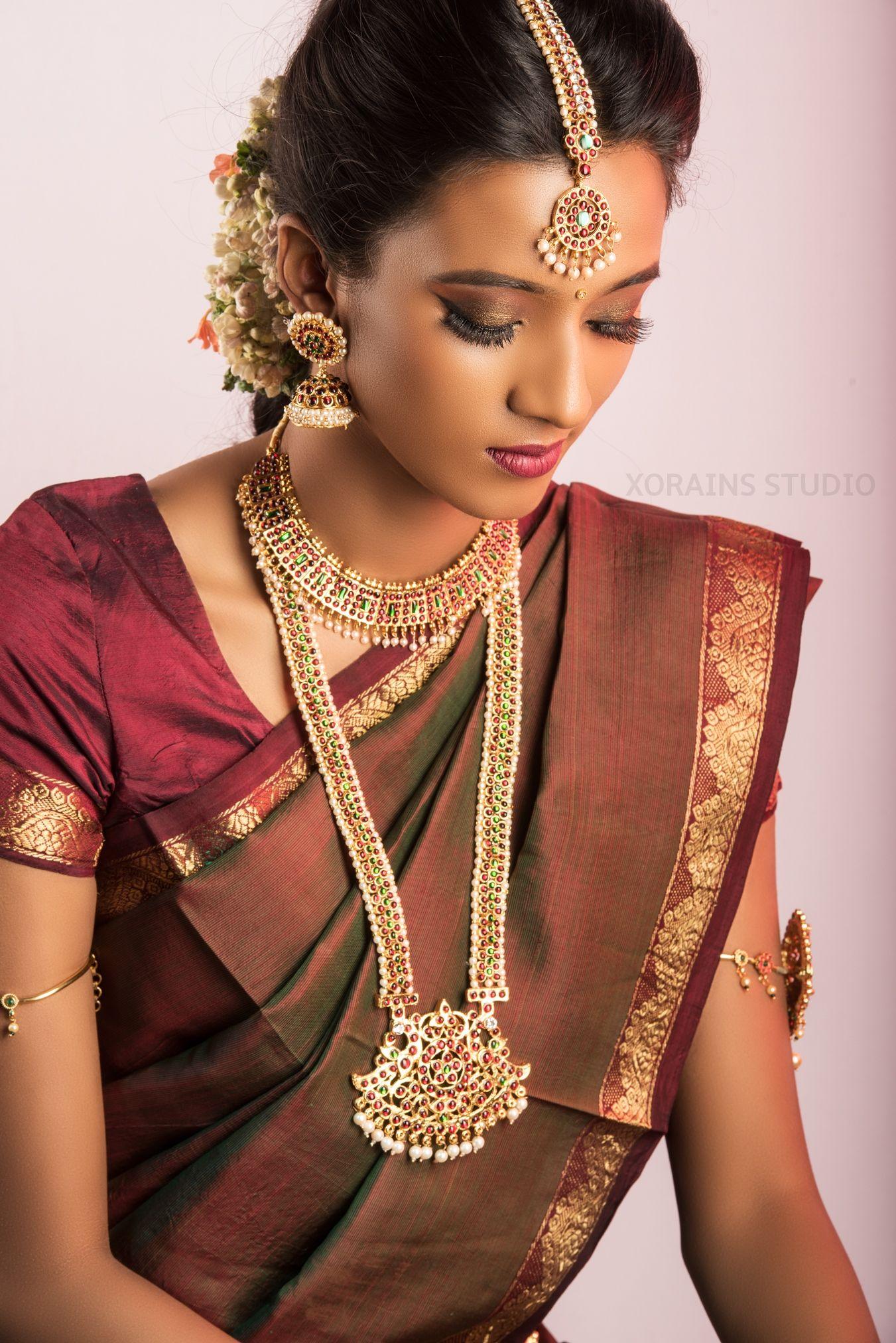 Tamil Brides in 2020 Indian bridal makeup, Indian bridal