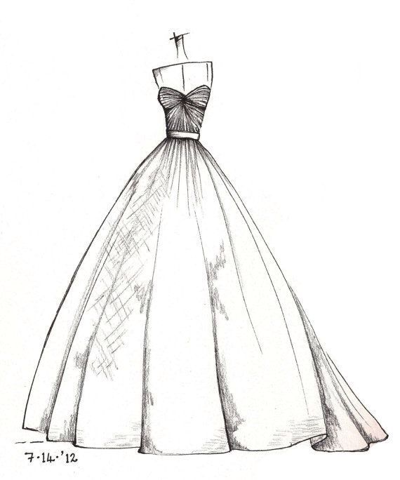 Quinceanera Dresses Drawings Pin by Princess...