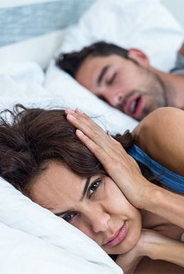 How to cope with a snoring partner