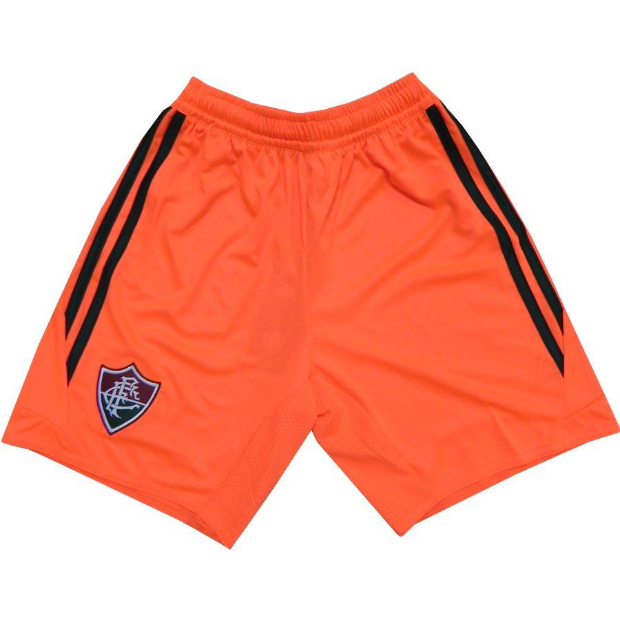 Short Fluminense III 2013 - 2014 Adidas Laranja  6bee30de5b2c1