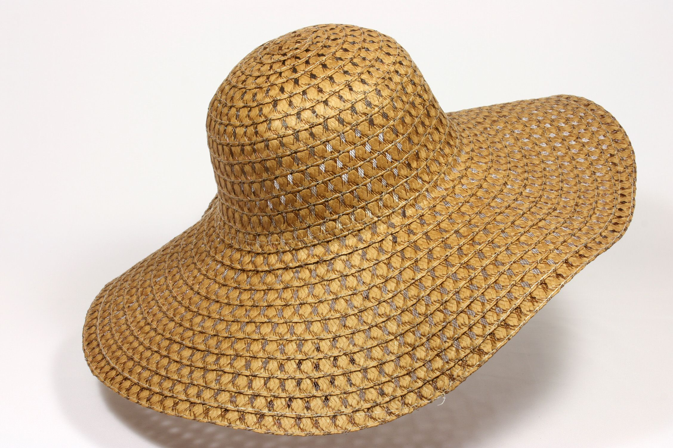d81f927cab1 Wide Floppy Brim Straw Hat STA-047