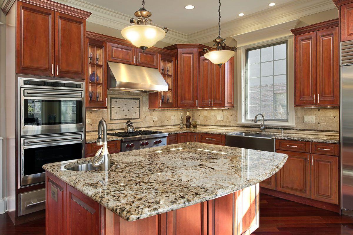 Ghi Brandywine Waverly Cabinets Luxury Kitchen Design Tuscan Kitchen Replacing Kitchen Countertops