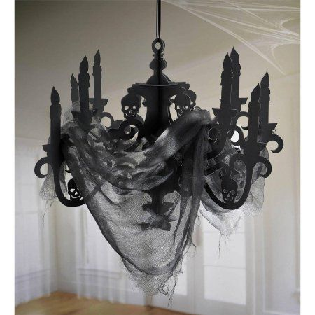 Free Shipping Buy Spooky Hanging Candelabra Halloween Decoration at - halloween decorations at walmart