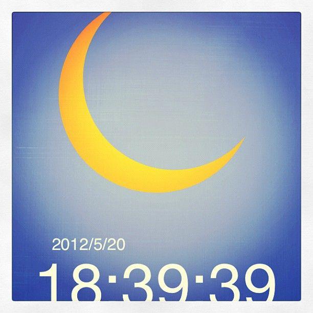 ロサンゼルスでは明日です。部分日食だけど。 - @syamatko- #webstagram