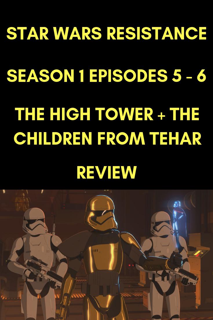 Star Wars Resistance: Season 1 Episodes 5 – 6 (Television/TV