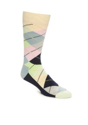 Happy Socks  Pastel Argyle Socks - Single Pair