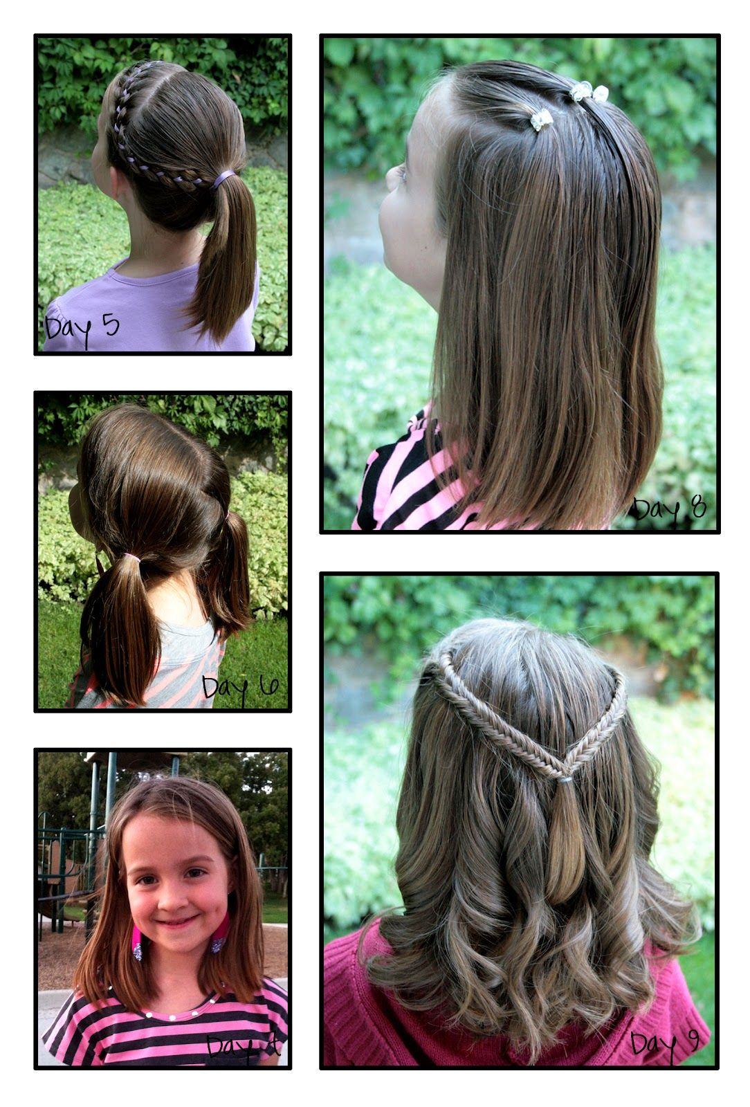 girly do's by jenn: school week 2 | 100 days of hair {years one