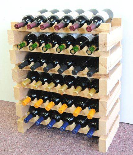Stackable 72 Bottles Modular Wine Storage