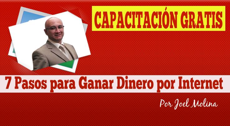 """""""CAPACITACIÓN GRATIS"""" 7 Pasos para Ganar Dinero por Internet...  Suscribete GRATIS a continuación: http://cumbredemarketing.com/capacitacion-gratis/"""