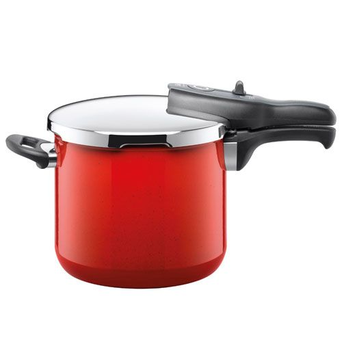 Silit Sicomatic T Plus Pressure Cooker Red 22cm 6 5l Pressure