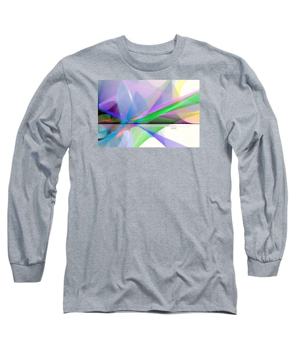 Long Sleeve T-Shirt - Abstract 9497