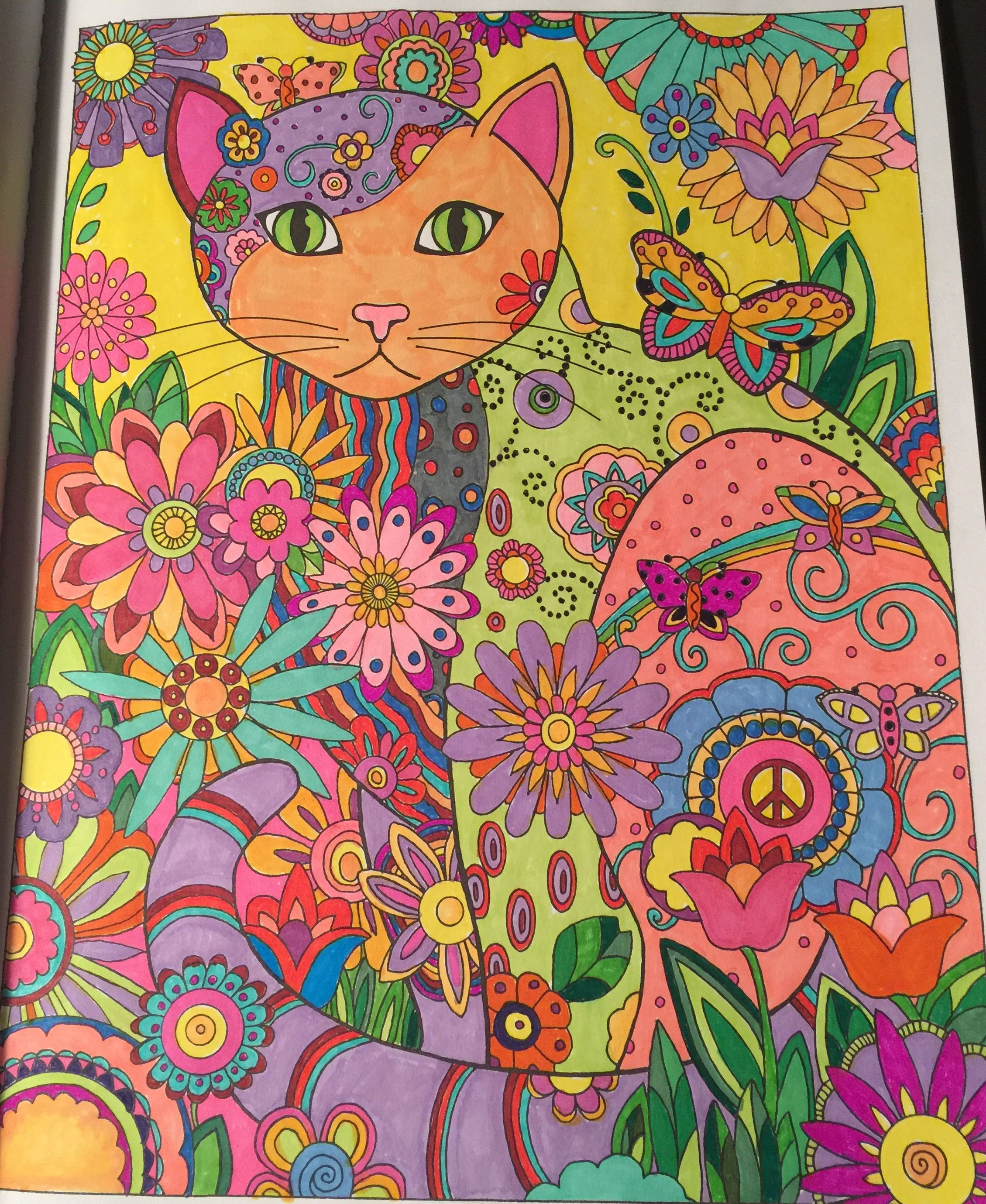 Color Me Beautiful Kitty My Relaxing Coloring