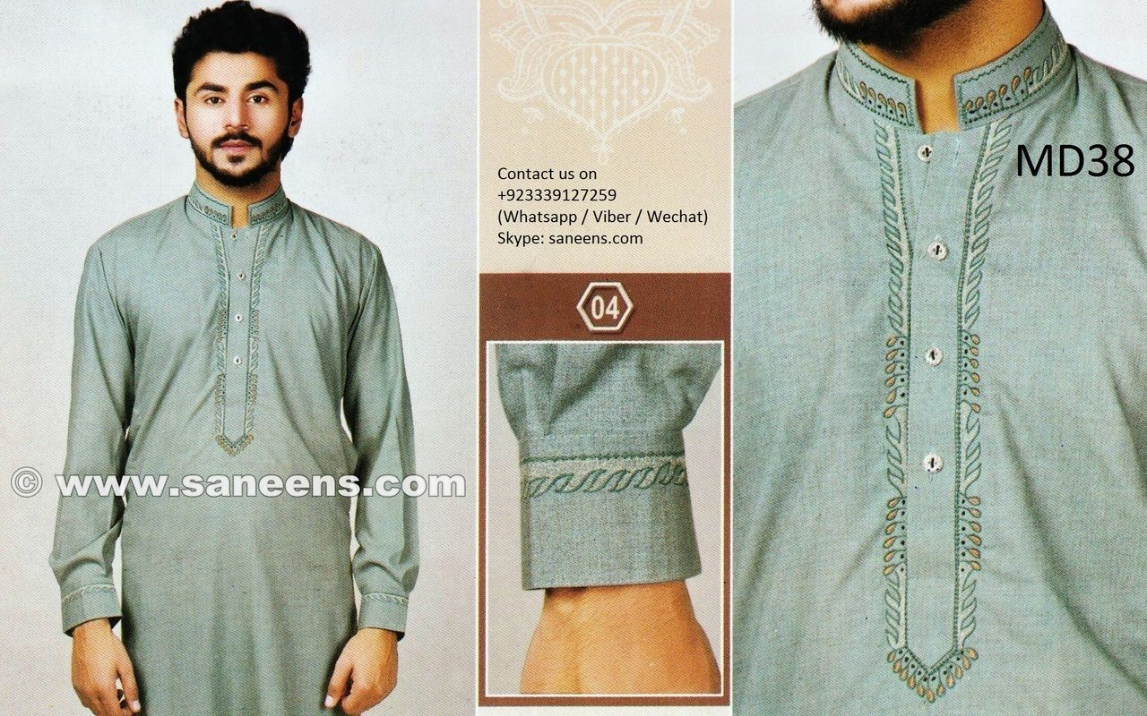 Mens Clothes In Greenish Gray Color Afghani Dress New Style | Afghan ...