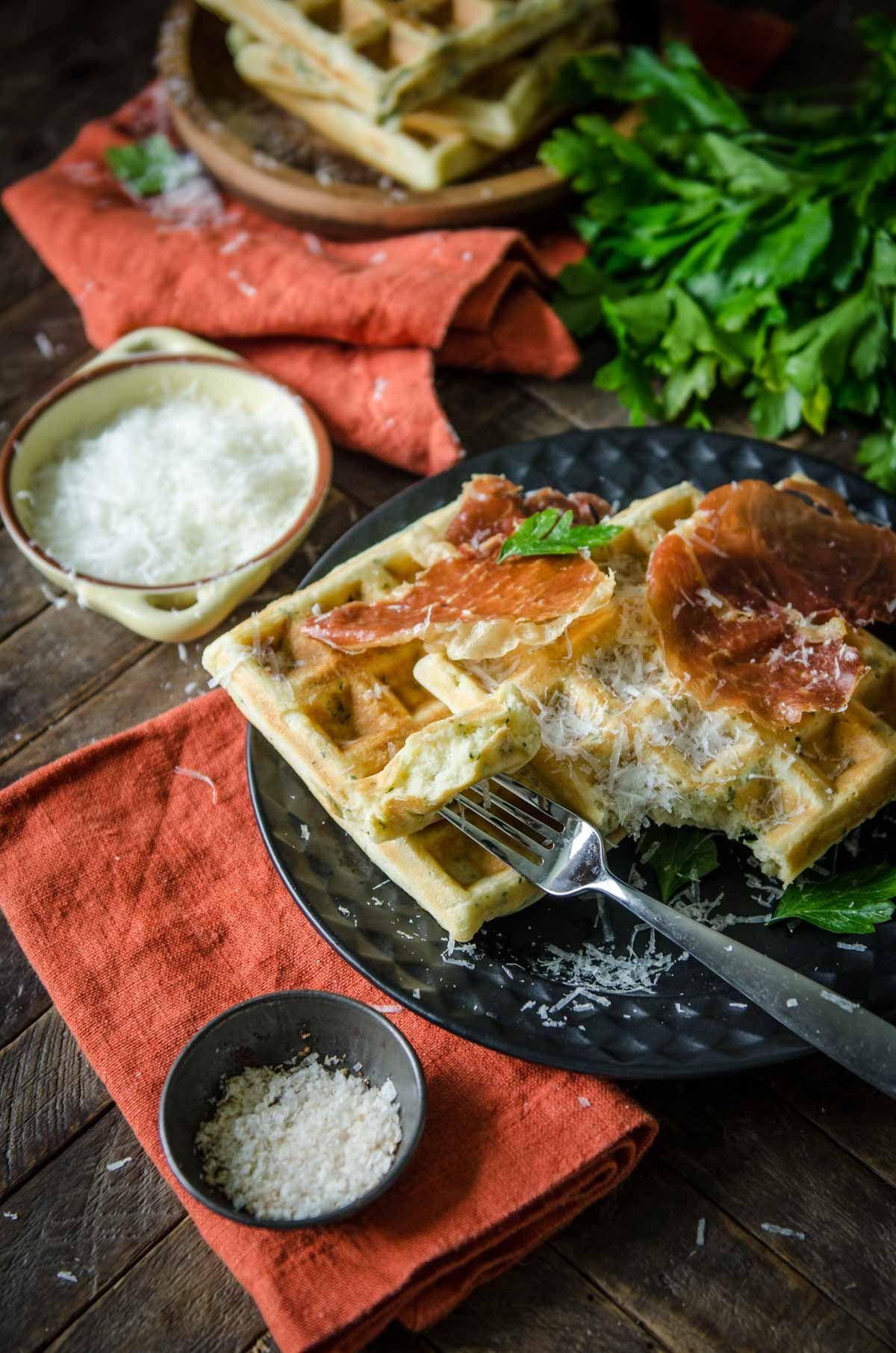 Parmesan and parsley savory waffles recipe savory waffles parmesan and parsley savory waffles italian dinner recipesbest forumfinder Gallery