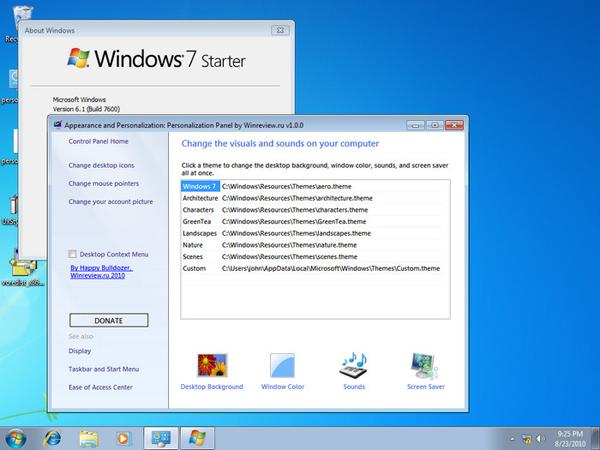Cara Mengganti Wallpaper Windows 7 Starter Dengan Personalization