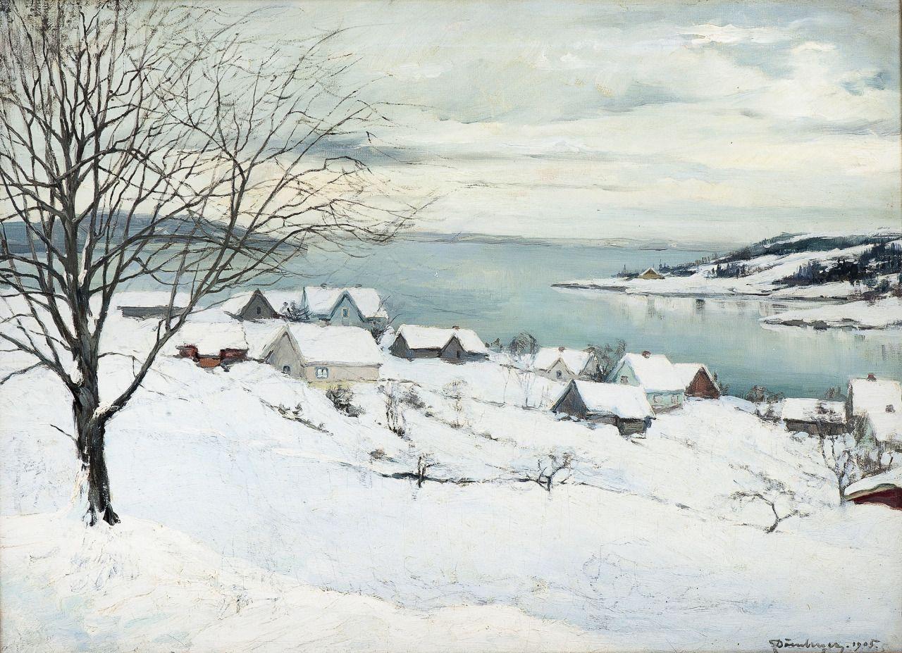 Carl Dornberger — Fra Son — 1905