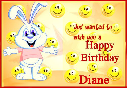 Wishing You A Wonderful And Very Happy Birthday Diane Description