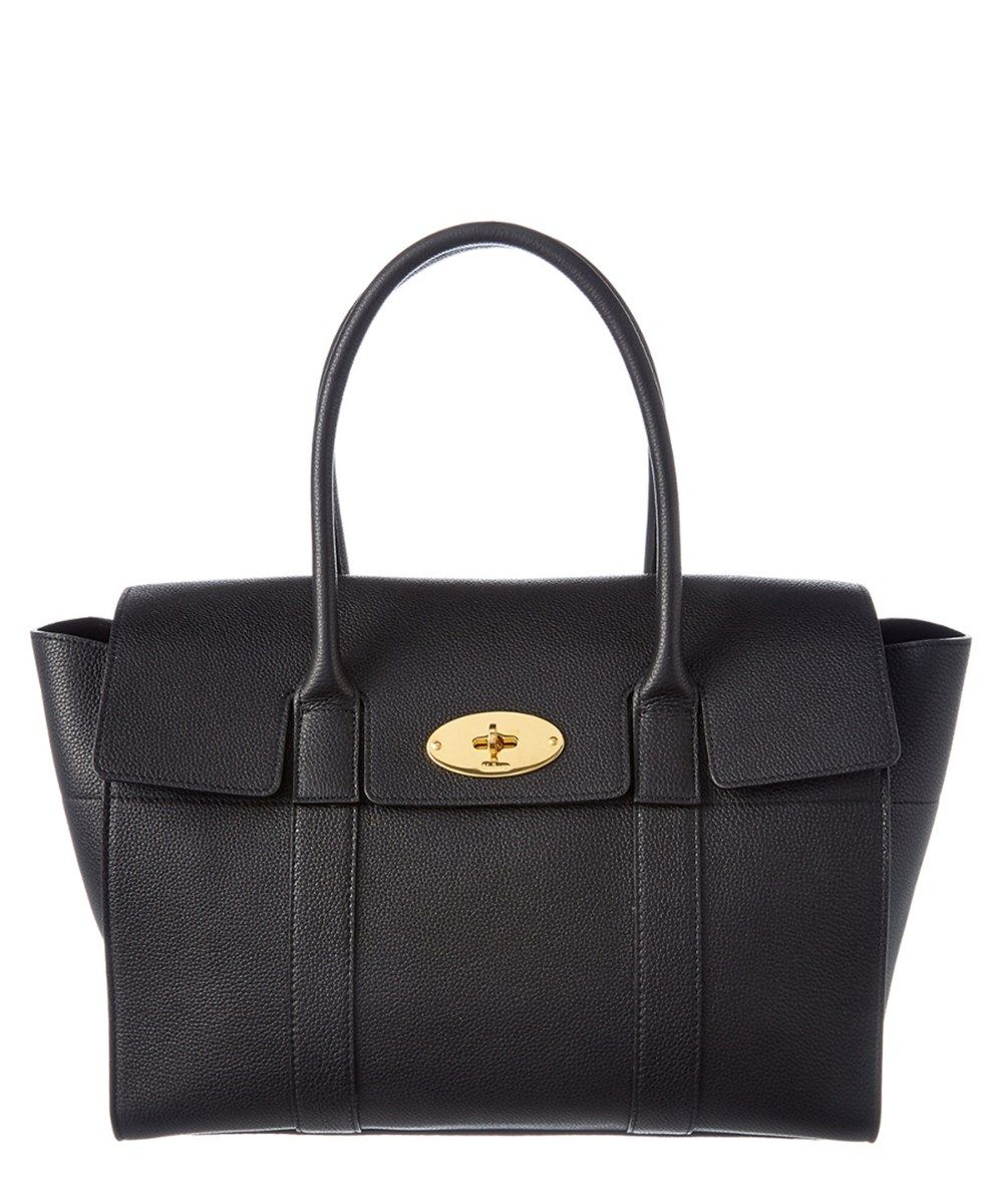 a6033e788046 MULBERRY Mulberry New Bayswater Small Classic Grain Leather Tote .  mulberry   bags  hand bags  suede  tote  lining