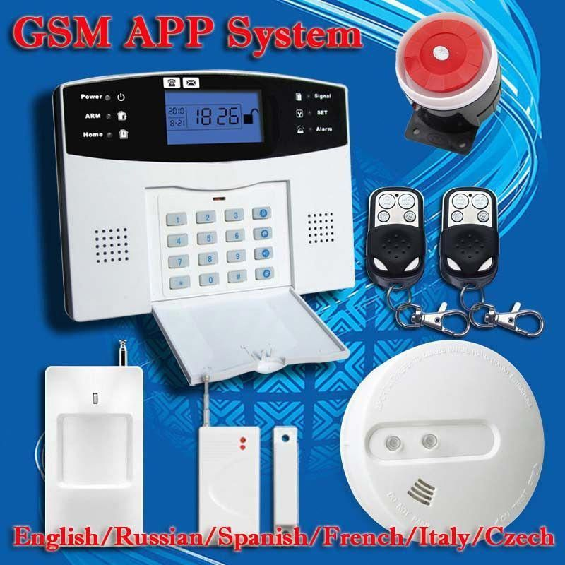 Voice Wireless Gsm Alarm System Home Security Alarm Systems Lcd Keyboard Pet Sensor Ho With Images Wireless Home Security Systems Home Security Home Security Alarm System