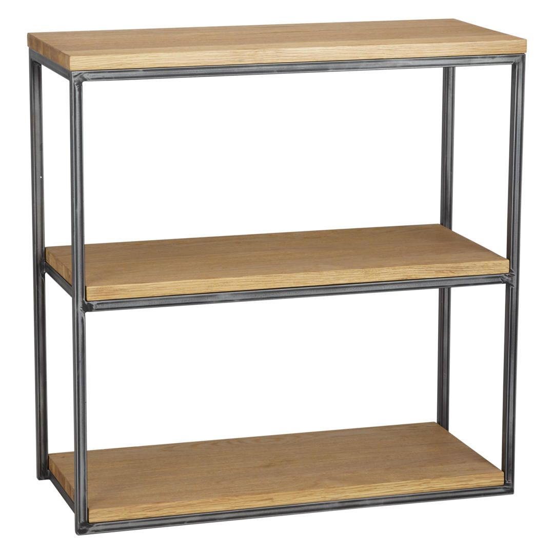 2867c99de394 John Lewis & Partners Calia Low Shelving Unit, Oak | cabinet | Low ...