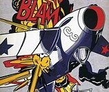 'Blam', (1962) by Roy Lichtenstein.