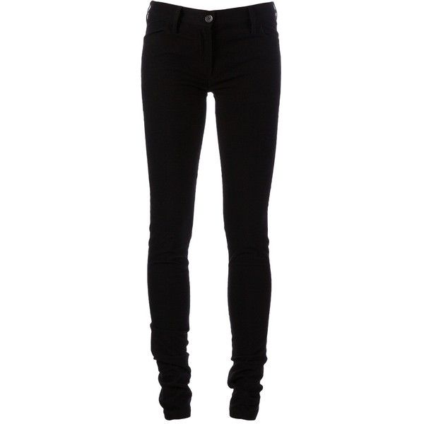 ANN DEMEULEMEESTER skinny JEANS ($615) ❤ liked on Polyvore