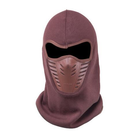 Cycling Face Cover Outdoor Windproof Winter Warmer Fleece Bike Full Scarf Mask