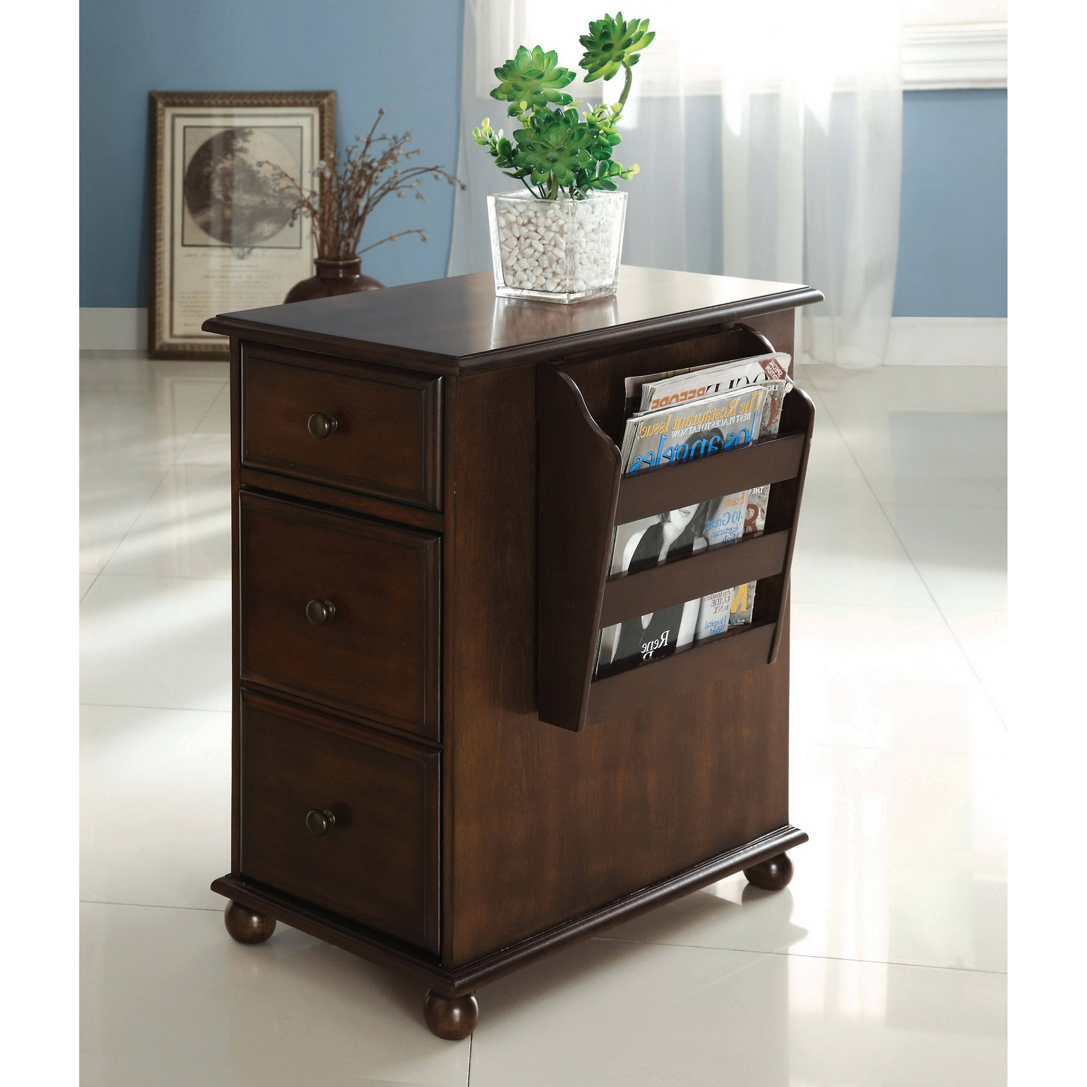 perfect multipurpose furniture. This Wood Storage End Table Is The Perfect Multipurpose Piece For Your Home. Side Furniture