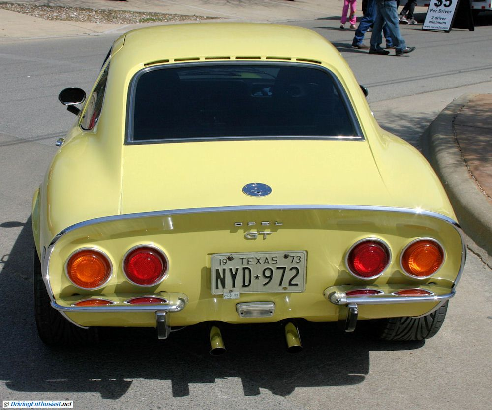 Opel GT. Cars And Coffee Austin TX USA March 2011.