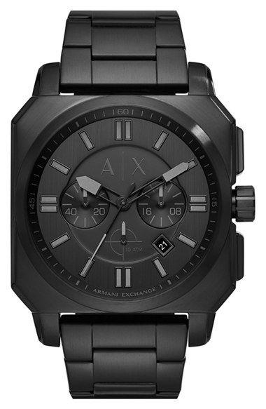 a2e4d9df3ff AX Armani Exchange Chronograph Bracelet Watch