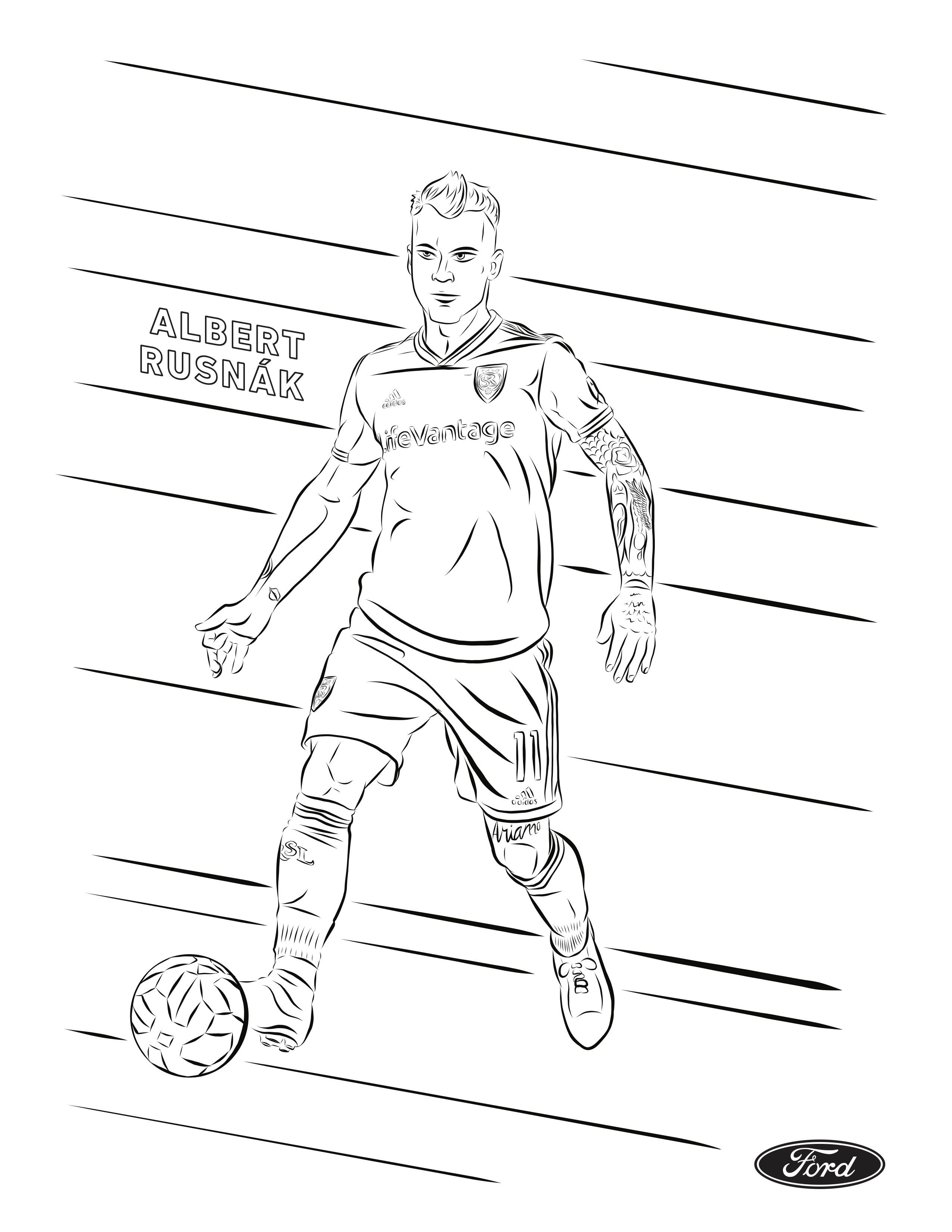 Rsl Coloring Pages Real Salt Lake Coloring Pages Real Salt Lake Color
