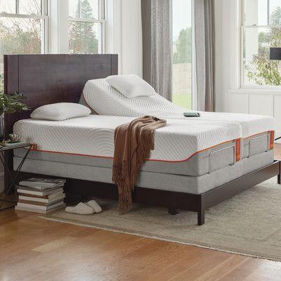 Tempur Pedic Ergo Premier Adjustable Bed Adjustable Beds Adjustable Bed Headboard Luxury Mattresses