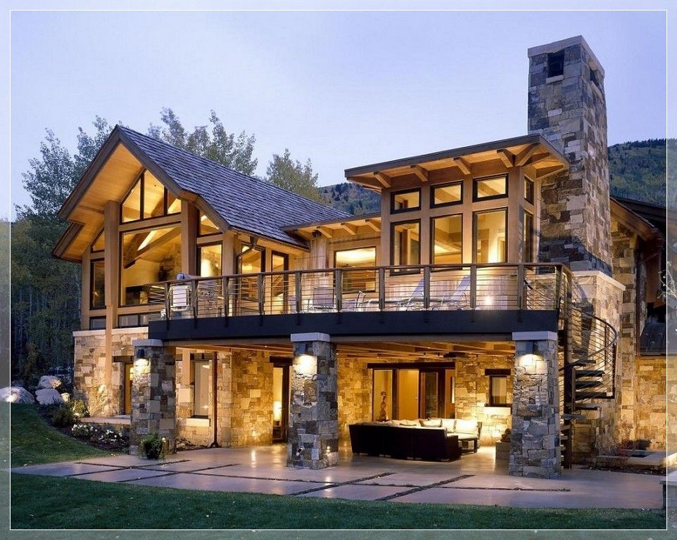 stunning modern stone exterior home design | Exterior Finishes ...