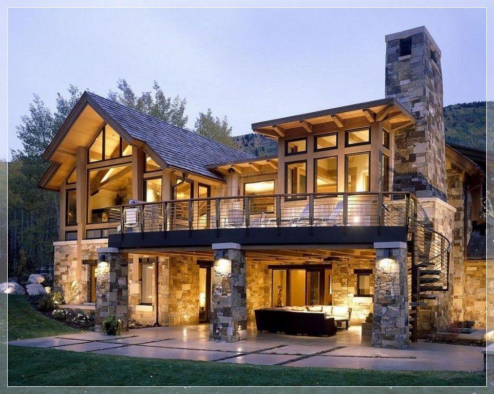 stunning modern stone exterior home design | Exterior Finishes ...