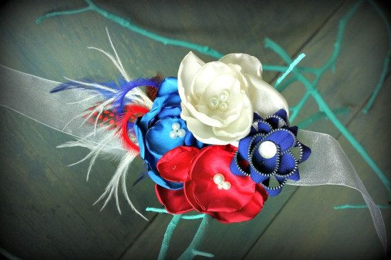 Red White and Blue Sash for Maternity by thelaughingprincess, $26.50