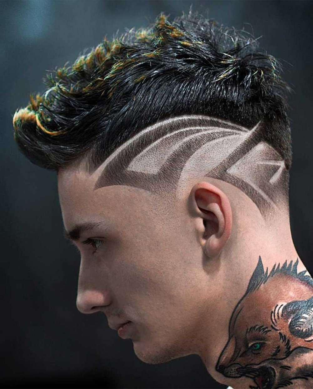 42 Cool Hair Designs For Men In 2021 Men S Hairstyle Tips Cool Hair Designs Men Hair Color Hair Designs For Men