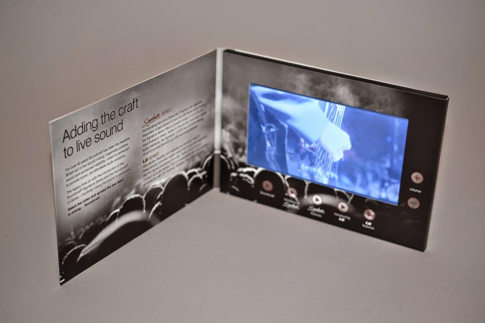 Video Brochures Innovative Video Marketing Minivision Greeting Card Video Musical Greeting Cards Buy Greeting Cards