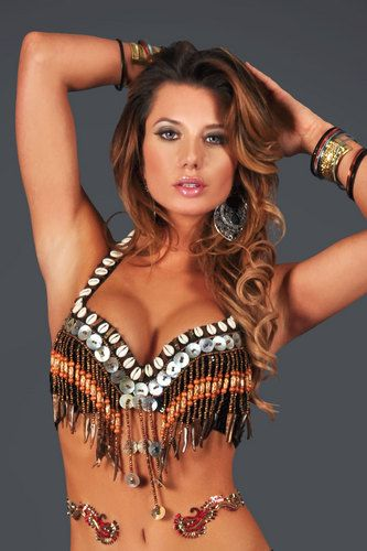 Tribal Shell Bra 2847