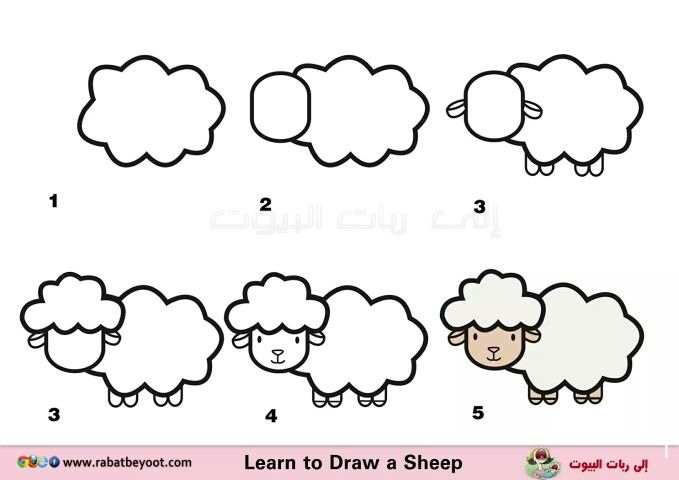 Pin de lorena munoz en ovejas para cristi pinterest for Comedor facil de dibujar